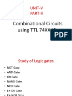 Study of Logic Gates