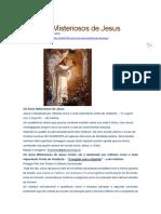Os Anos Misteriosos de Jesus