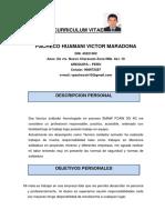 Curriculum Vitae Victor