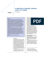 The Application of Pumpable Emulsions