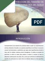 Distribución de Particulas de Tamaño y Granulometría
