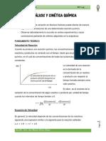Catálisis y Cinética Química