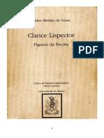 Clarice Lispector Figuras Da Escrita