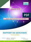 Rapport Géochimie Version Finale