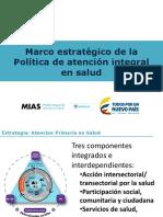 3. Marco Estratégico de La Politica de Atención Integral en Salud