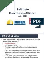 2017 Downtown Alliance Marketing Survey
