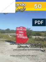 Negros Mascogos y Seminoles de Coahuila