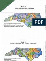 Senate County Group Maps Covington Case Exhibit Declaration of Dr Thomas Hofeller