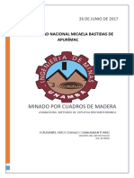Minado de Cuadros de Madero