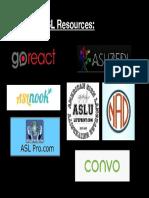 asl resources