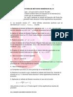 Ejercicios Laboratorio de Metodos numericos