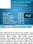 Penggunaan Media Dalam Promosi Kesehatan