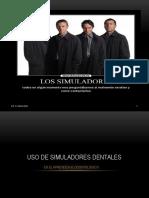 1 Uso de Simuladores Dentales