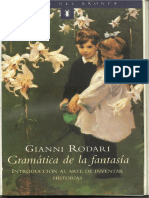 Gianni Rodari - Gramática de La Fantasía