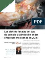 Efectos Fiscales Tipo Cambio Mayo 2016