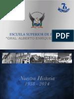 Vista Previa en Alta_Escuela Superior de Policía_libro_Nuestra História 1938-2014_21x29,7_010414_09h23