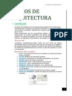 PLANOS DE ARQUITECTURA- UNJFSC