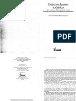 Redacción de textos académicos. González y Urqhart