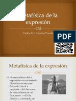 Metafísica de La Expresión