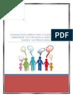 Comunicación Asertiva Para La Construccion de Ambientes de Paz a Traves de La Creacion de Una Emisora y Un Periodo Mural