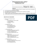 Instrumento de Evaluacion II Parcial - 2do q Matematica - 2015
