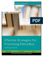 Effective Strategies for promoting new product.