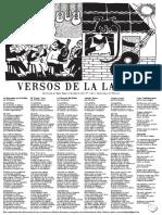 """Lira Popular """"Versos de La Laguna"""" N°2"""