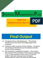 Strategic Management Plan 5