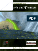 Pathfinder RPG OGL - 101 Hazards and Disasters