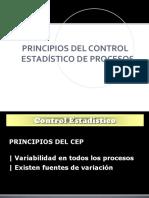 Principios Del Control Estadístico de Procesos
