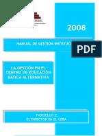 La Gestionen El Ceba - 2008
