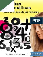 Malditas matemáticas (alicia en el pais de los numeros)