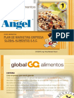 Plan de Marketing Global Alimento -