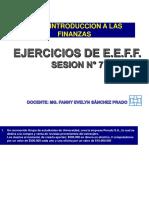 Sesion 7 -Ejercicio de Introducci a Las Finanzas