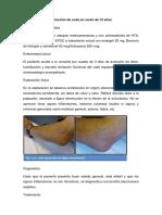 Caso Bursitis