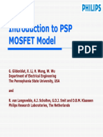Introduction to PSP MOSFET Model