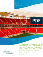 Manejo integrado de águas pluviais - Estádio Mané Garrincha