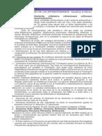 Clasificación Antimicrobianos