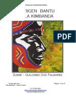 El Origen Bantu de La Kimbanda