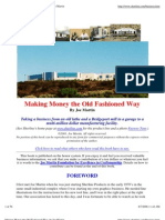 Making Money the Old Fashioned Way, By Joe Martin