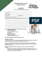 Drumoff Registration Form
