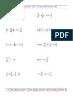 ooo fractions decimals 001