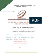 Análisis de Vivienda Unifamiliar.