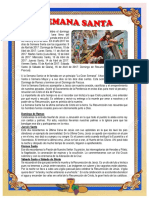 Periodico Mural Semana Santa