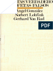 Von Rad, G., Lohfink, N., González, Á., PROFETAS VERDADEROS PROFETAS FALSOS, Sígueme, Salamanca, 1976