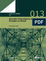 Geração Fotovoltaica de Energia no Brasil