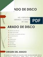 Arado de Disco