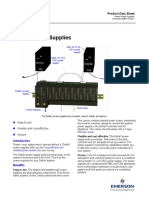 VE5001 Product Data Sheet DeltaV Power Supplies
