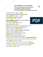 PREGUNTAS DE EXAMEN 5° BIMESTRE