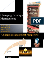 Changing Paradigm shift in management
